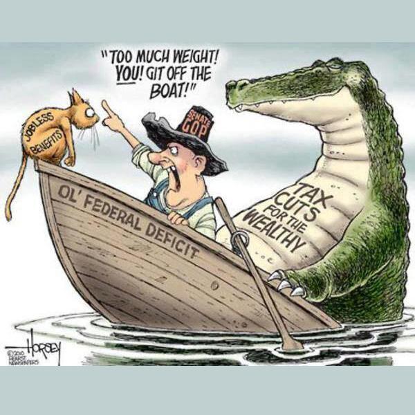 Federal Deficit Cartoon