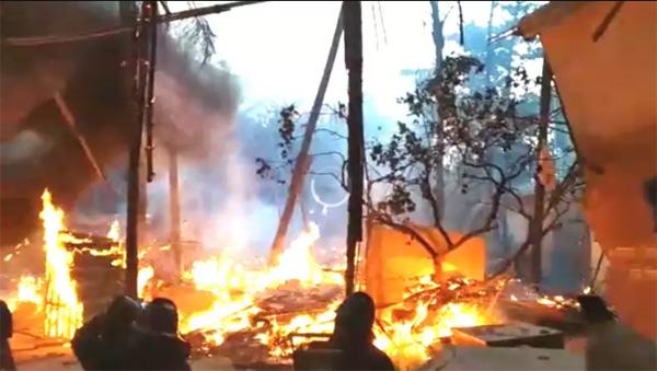 Fire on the set of TV show 'Paramavatar Shri Krishna', Mumbai, News, Cinema, Entertainment, Burnt, Television, Report, Video, National