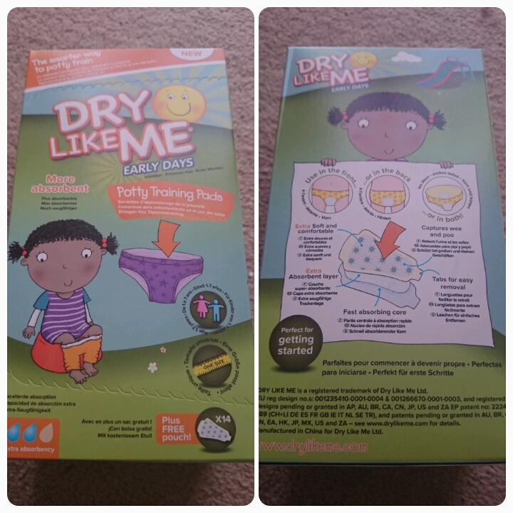 dry like me potty training pads