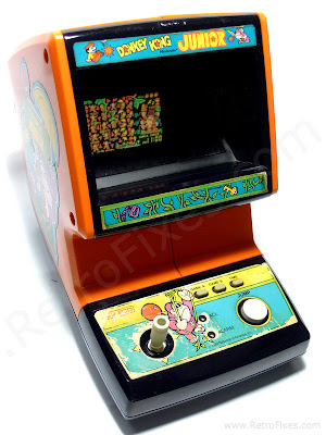 Donkey Kong Junior Coleco Tabletop Retrofixes