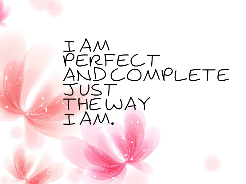 Simple Girl Wallpaper Image Body Image Affirmations For Teens Everyday Affirmations