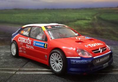 Citroën Xsara T4/WRC Sainz Scalextric iniciación