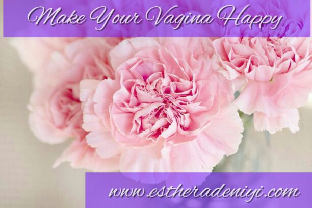picture of pink flower depicting vagina health