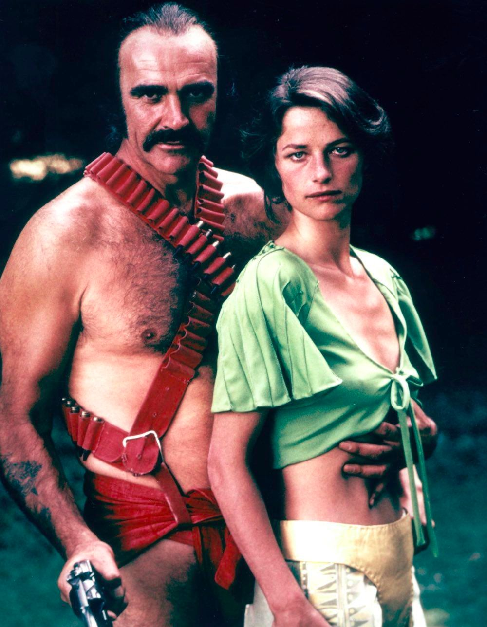 15 Photos Of Sean Connery Rocked A Scarlet Mankini In 1974