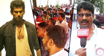 "Vishal trying to destroy us""- Technician Union 