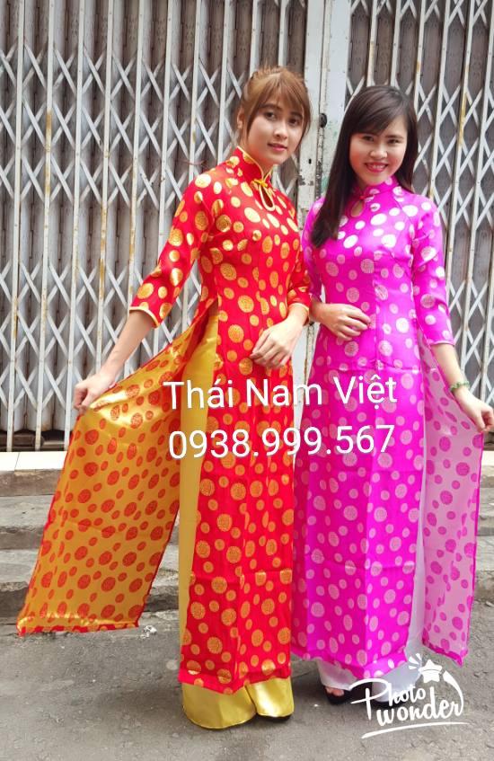 Chuyên may bán và cho thuê trang phục áo dài chụp tết giá rẻ