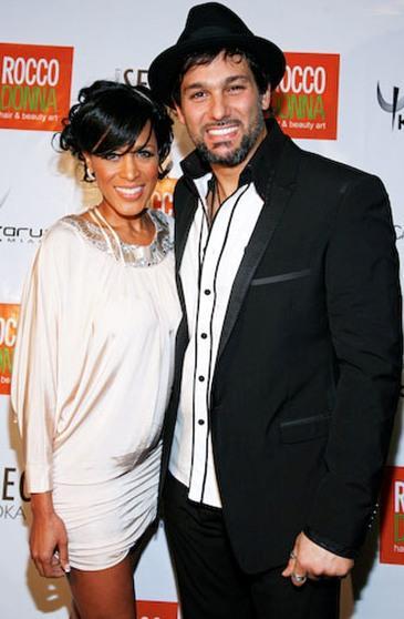Foto de Marger feliz con su esposo