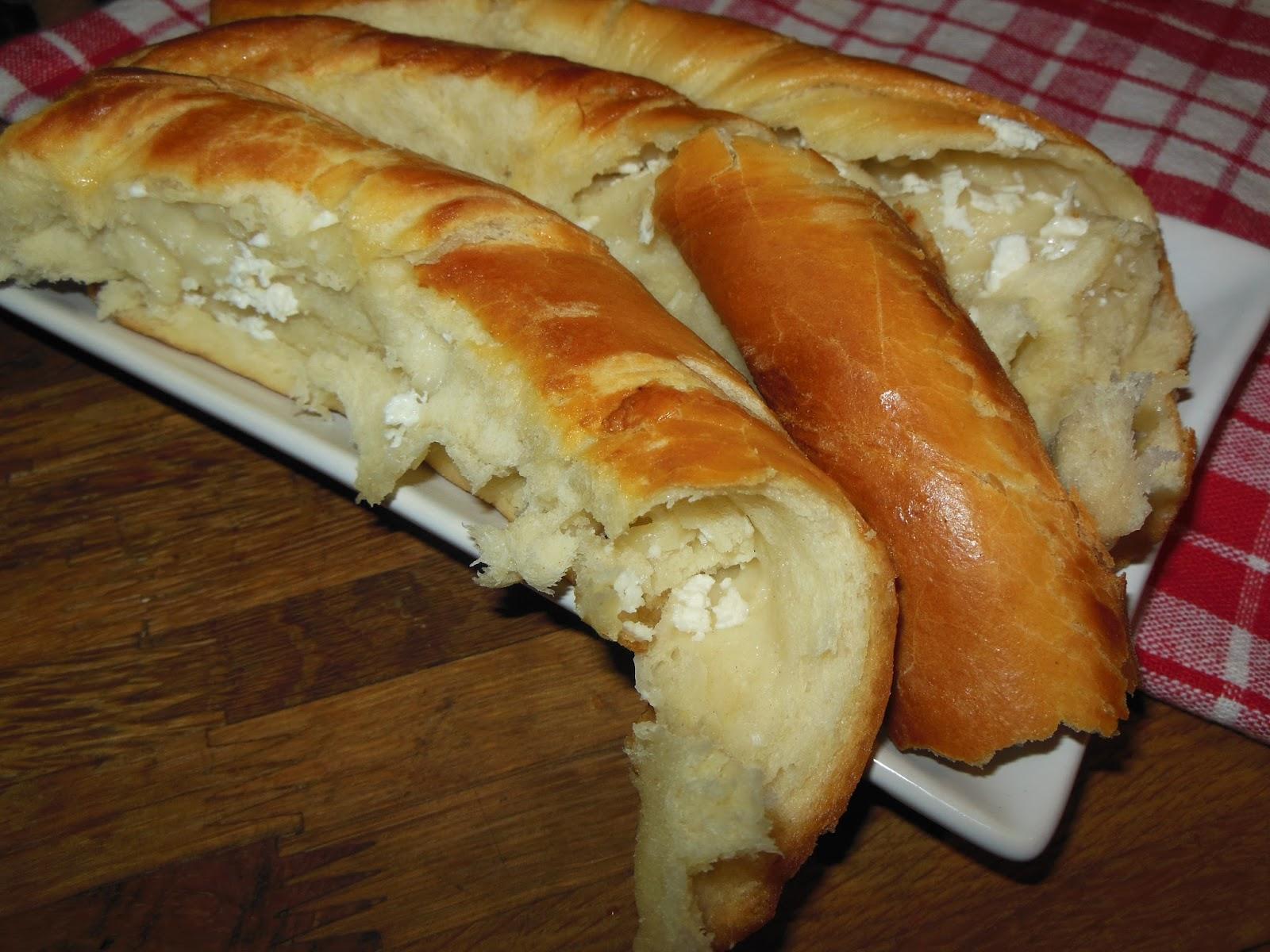 Вит тутманик със сирене