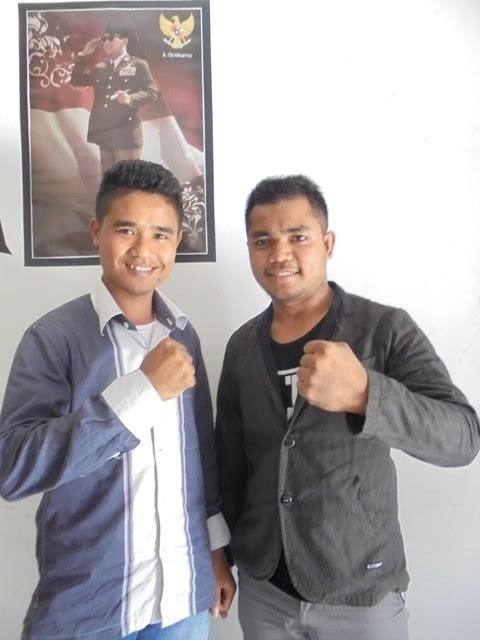 Soleman Renda Bili (kiri) dan  Desten Wilnemus Adu (kanan), MADU calon kandidat cagub dan cawagub NTT yang  akan bertarung pada pilkada NTT 2018 mendatang