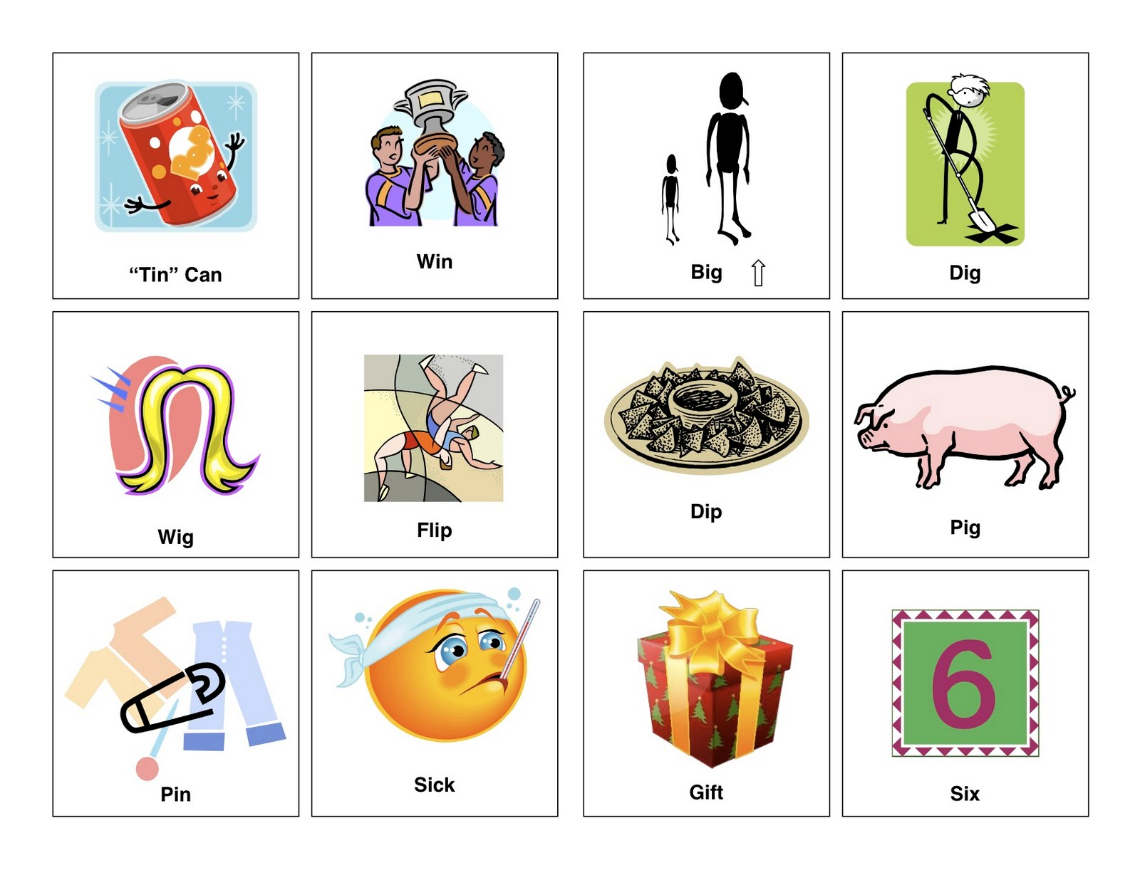 Clear Speech Therapy Vowel Short I