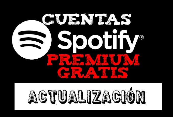 Cuentas Spotify premium Gratis. Octubre 2016