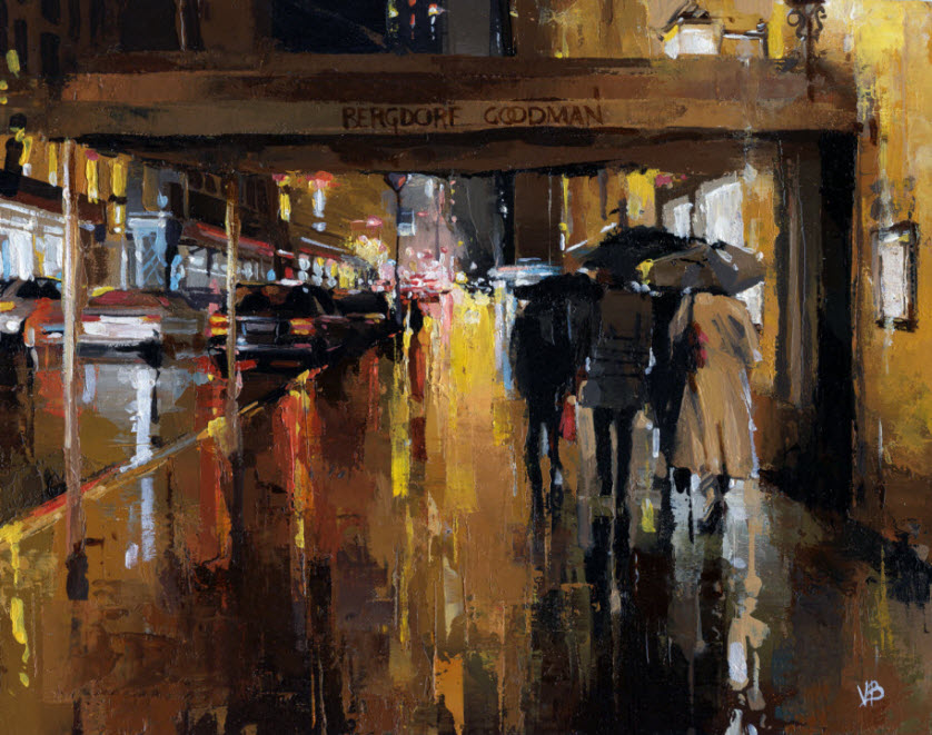 Stunning Cityscape Paintings by Victor Bauer