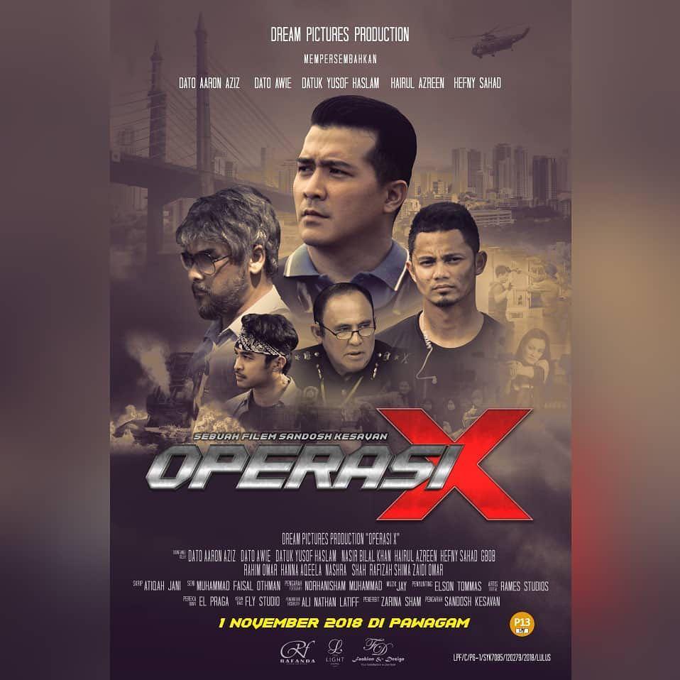 Operasi X Movie Filem Terbaru 2018 Gempak Macam Trailer tak?