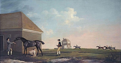 "Stubbs painting ""Gimcrack on the Newmarket Heath"""