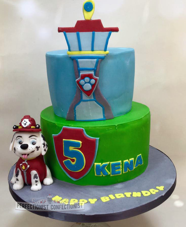 paw patrol birthday party cakes