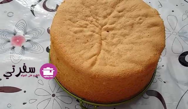 الكيكة الاسفنجية فاطمه ابو حاتي