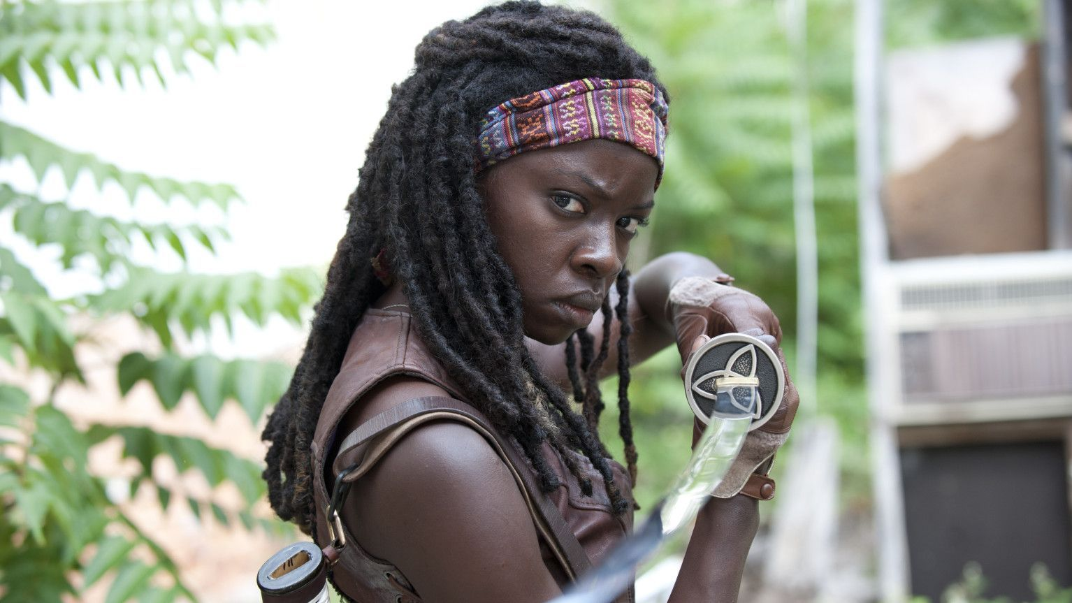 Best Tv Actress Tv shows 2107Michonne TWD