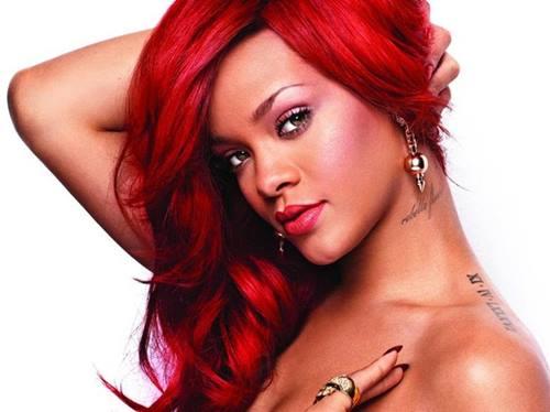 Cabelos Vermelhos Rihanna