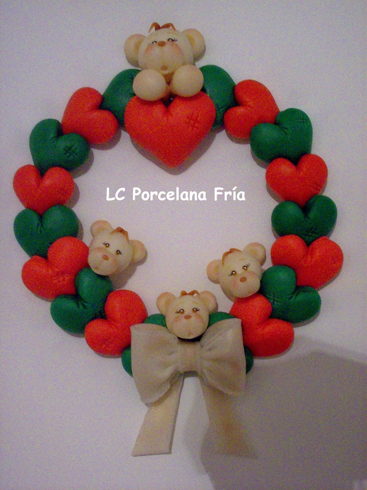 Lc porcelana fr a feliz navidad for Adornos navidenos en porcelana fria utilisima