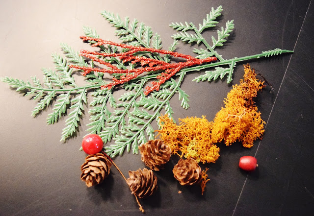 craft supples, miniature environment ornament, holiday ornament