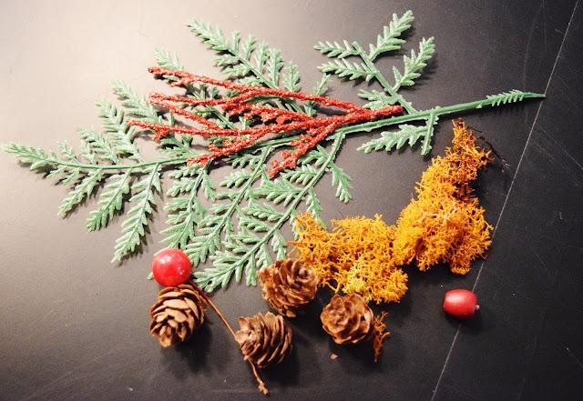 craft supples, miniature environment ornament, holiday ornament