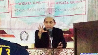 Wisata Qur'an Masjid Kampus Undip Ustadz Rusmanto
