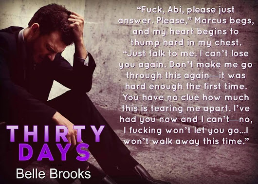 Thirty Days: Part Two by Belle Brooks ARC Book Review