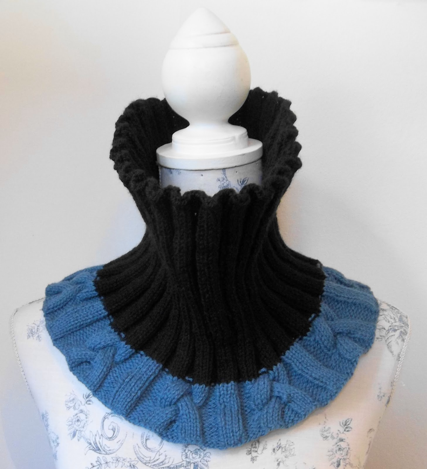 Cable rib cowl scarf neck warmer hand knitting pattern bankloansurffo Choice Image