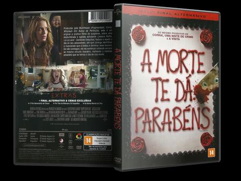 Capa DVD A Morte Te Dá Parabéns