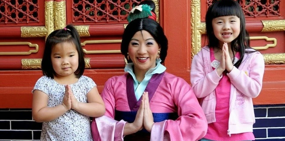 Onde encontrar princesa Mulan Orlando