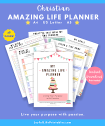Plan for an amazing life!