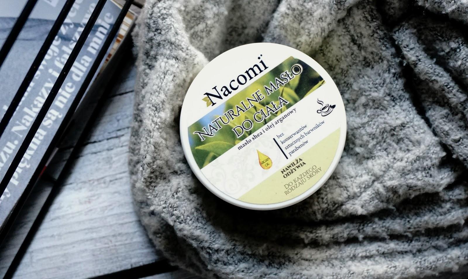 NATURALNE MASŁO DO CIAŁA - ZIELONA HERBATA / NACOMI wege kosmetyki, najlpesze masło do ciała