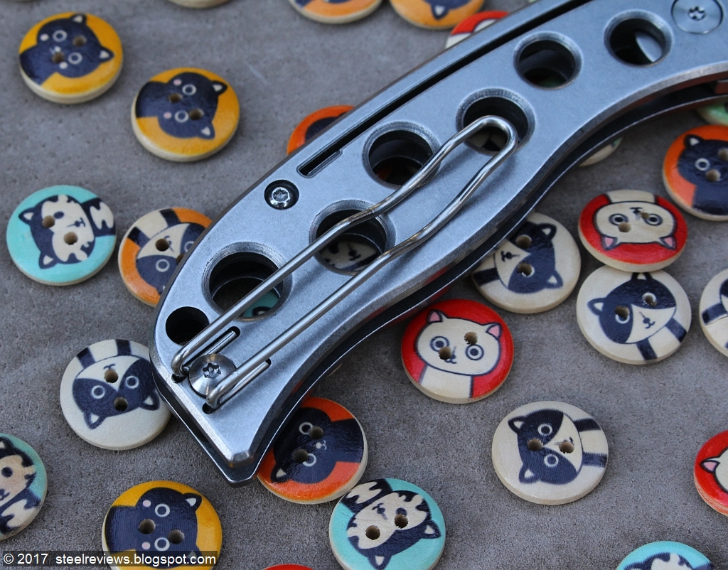 Steel Reviews: Review: super cool Spyderco C192 PITS copy from ...