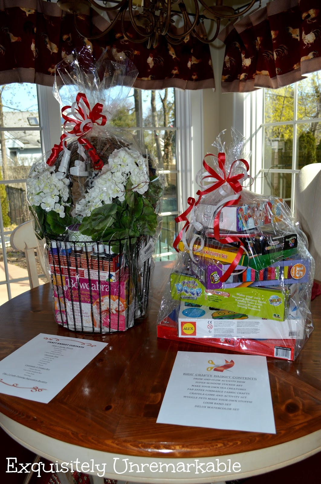 Gift baskets for kids and adults