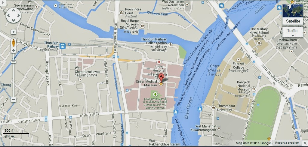 Siriraj Medical Museum Bangkok Location Map,Location Map of Siriraj Medical Museum Bangkok,Siriraj Medical Museum Bangkok accommodation destinations attractions hotels map reviews photos pictures