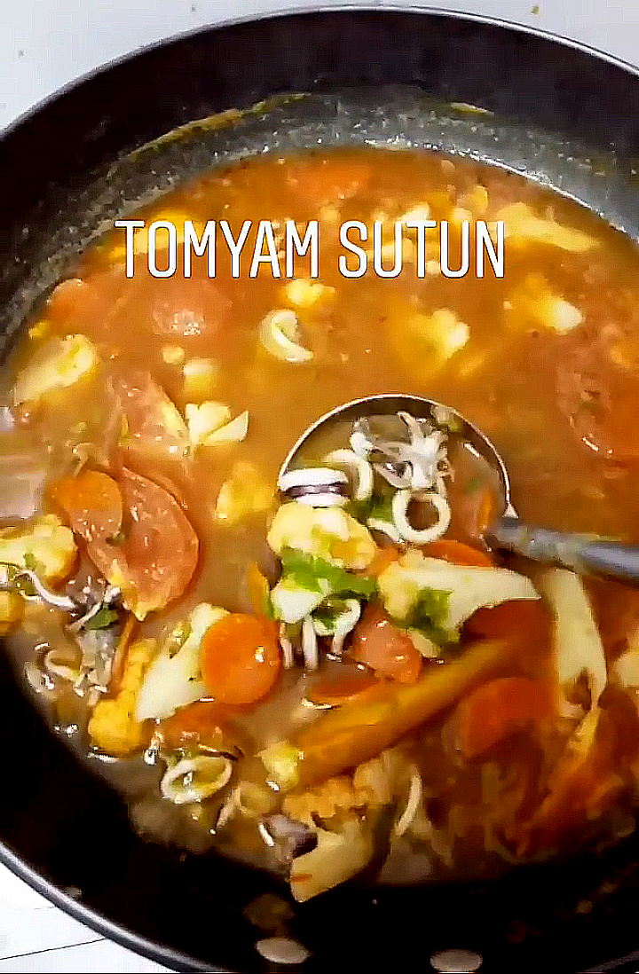 Resepi Tomyam Ala Thai Paling Simple