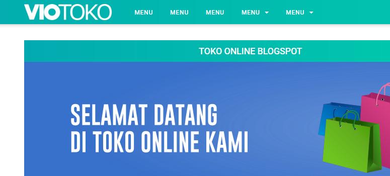 Review VioToko : Template Toko Online Terbaik Untuk Blogspot