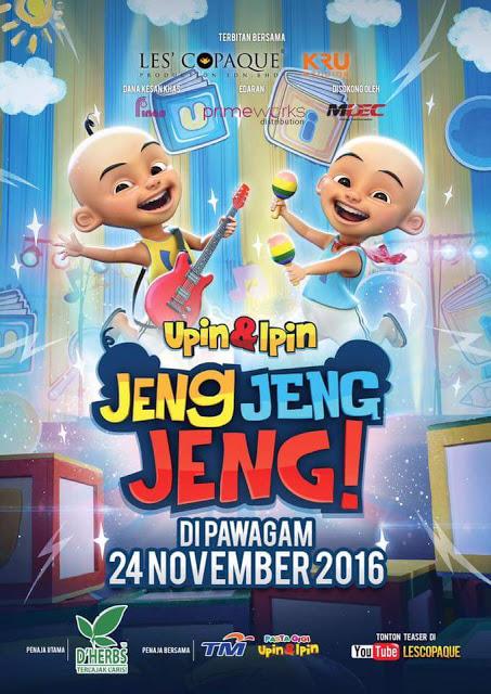 Upin Dan Ipin- Jeng Jeng Jeng! (2016) WEB-DL