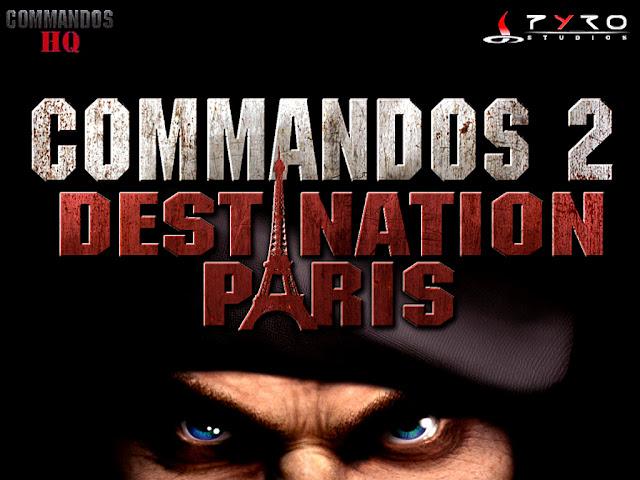 Commandos 2 - Destination Paris - Banner