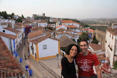 Obidos from the city walls