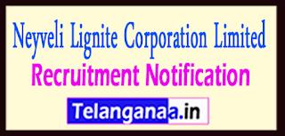 NLC Neyveli Lignite Corporation Limited Recruitment Notification 2017 Last date 30-05-2017