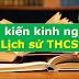 SÁNG KIẾN KINH NGHIỆM MÔN LỊCH SỬ THCS (Skkn lịch sử 6, 7, 8, 9)