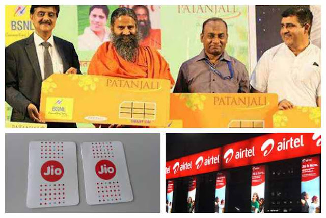Patanjali SIM vs Reliance Jio vs Airtel: Who offers cheapest data? Most affordable plan compared