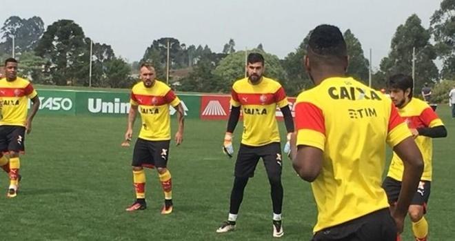 Vitória fecha preparação para enfrentar a Chapecoense