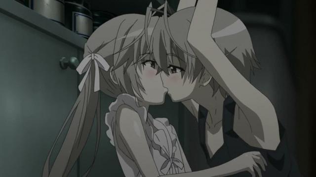 Haru X Sora   Yosuga No SoraYosuga No Sora Sora And Haru Kiss