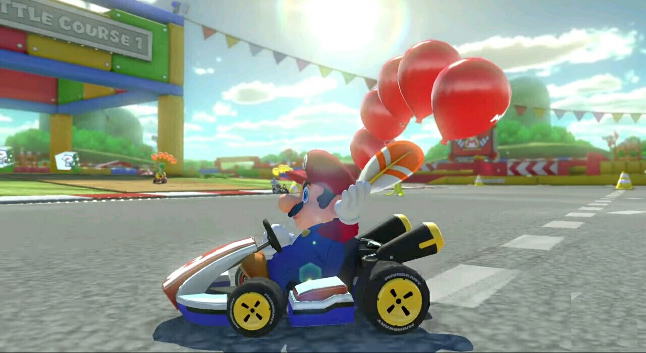 Mario kart 8 deluxe is the all time second best selling Racing game in the USA