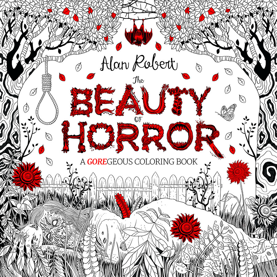 Madame Macabre: Libros para colorear: The beauty of horror.