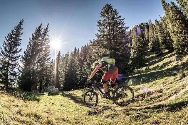 Tourdaten Mountainbike Tour Rofanspitze Angernalm in Tirol