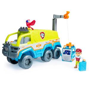 Veículo e Mini Figuras Patrulha Canina Resgate na Selva Caminhão de Resgate Sunny