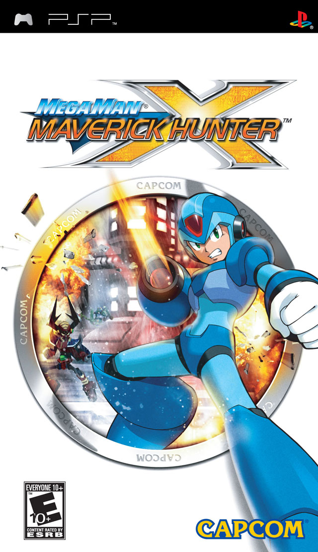 ROMs - Mega Man Maverick Hunter X - PSP Download